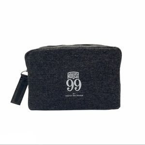 HOUSE 99 By DAVID BECKHAM Gray Canvas Pouch
